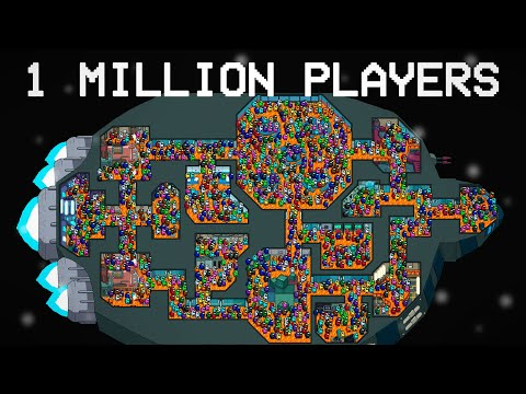 AMONG US with 1 MILLION PLAYERS, but FLOOR is LAVA