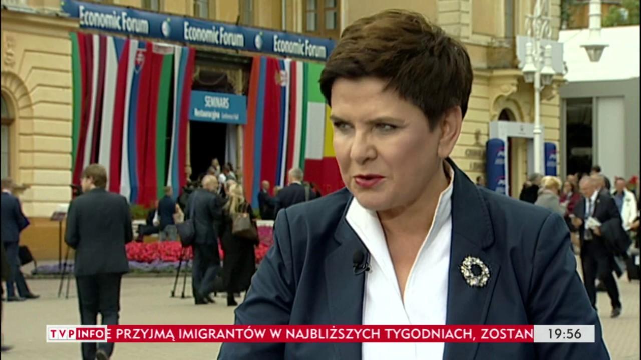 Doceniona pani premier – Gość Wiadomości