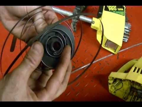 SOLVED: Repair a weed trimmer, How to remove the starter c