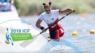 2018 ICF Canoe Sprint Junior & U23 World Championships Plovdiv / Day 1: Heats