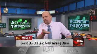 Jim Cramer: This market refuses to traffic in everything that's going wrong