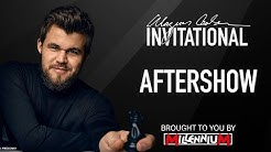 Aftershow with Pascal Charbonneau | Magnus Carlsen Invitational (14)