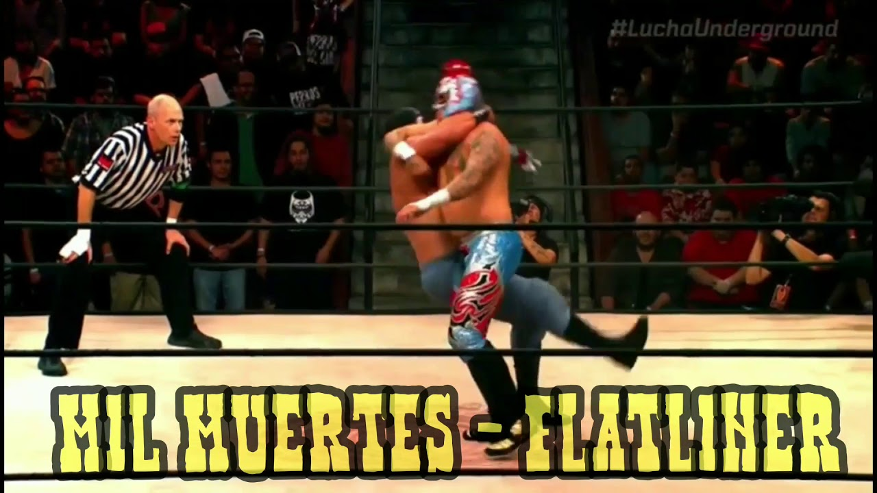 Lucha Libre Youtube Lucha Underground Finishers Read Description