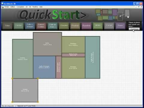 Crobics logiciel de dessin 3d tutoriel commandes de for Architecte 3d tutorial