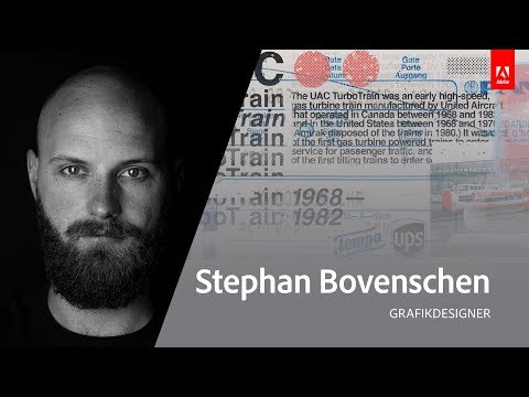 Grafikdesign mit Stephan Bovenschen - Adobe Live 2/3
