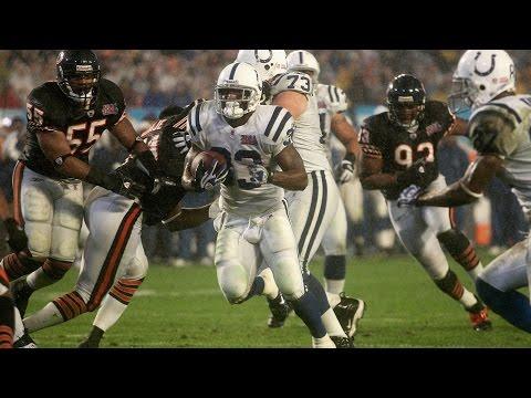 Dominic Rhodes Touchdown Super Bowl XLI