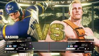 Gachikun (Rashid) vs melonsoda3 (Cody):ガチくん(ラシード)vs メロンソーダ(コーディ)