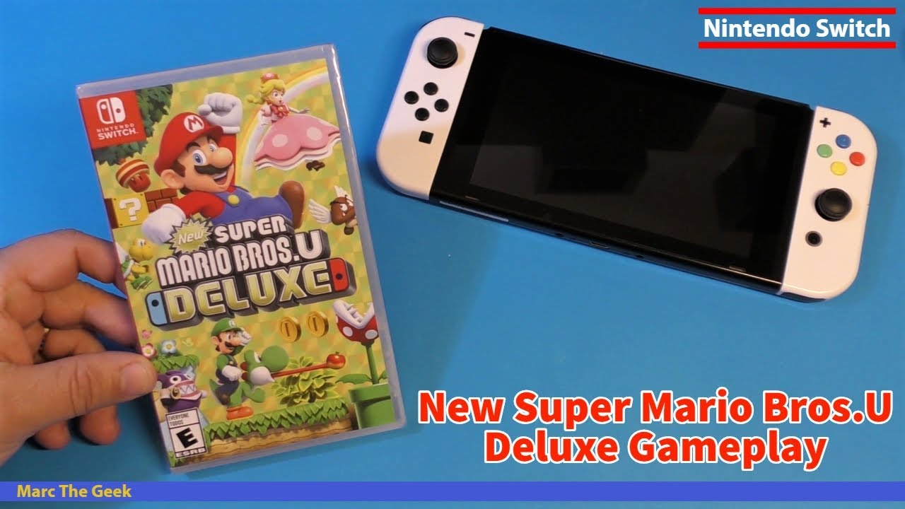 New Super Mario Bros U Deluxe Gameplay Youtube