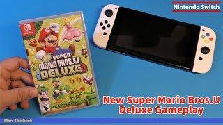 New Super Mario Bros.U Deluxe Gameplay