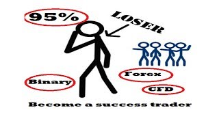 Why 95% traders lose money in Binary, Forex, and CFD Trading - Become a success trader