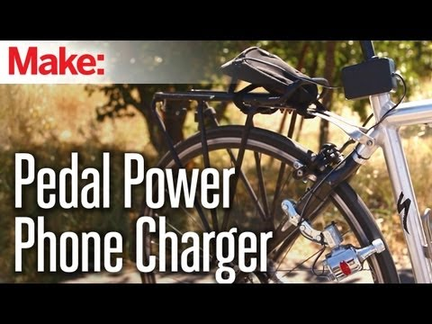 Weekend Projects - Pedal Power Phone Charger