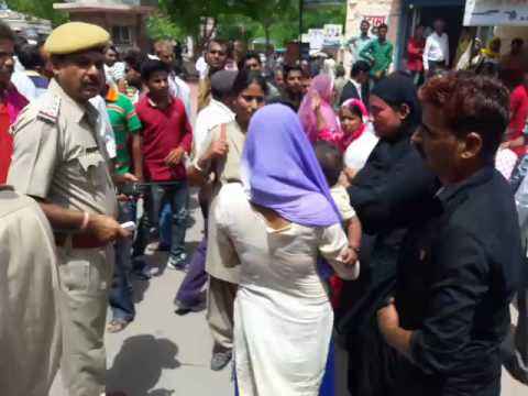 #PALI : Out of the office of the superintendent of police Quarrel in women