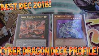 Yu-Gi-Oh Best Cyber Dragon Deck Profile!! Dec 2018