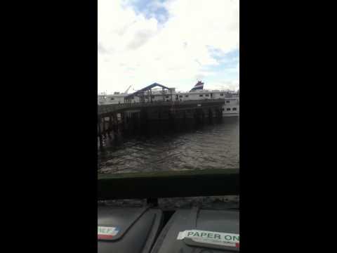 Tourist come to port townsend