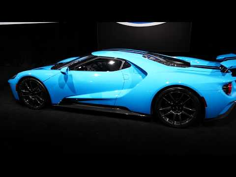 New Custom 2019 Ford GT Supercar - Baby Blue Paint - Galpin Hall of Customs - 2018 LA Auto Show