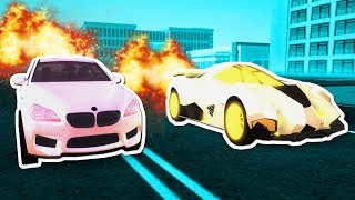 LAMBORGHINI EGOISTA VS BMW M6 RACE in ROBLOX VEHICLE SIMULATOR!!