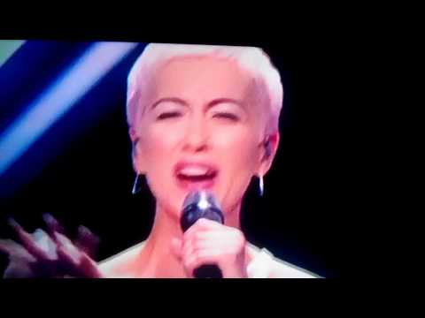 SuRie - Eurovision 2018 - Attack on the stage
