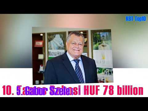 Top 10 richest Hungary / Hungarian Millionaire