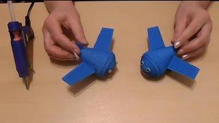 самолётик в технике квиллинг, урок квиллинг