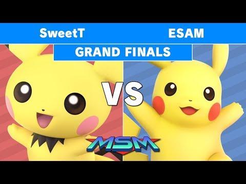MSM 179 - SweetT (Pichu) vs PG | Esam (Pikachu) Grand Finals - Smash Ultimate thumbnail