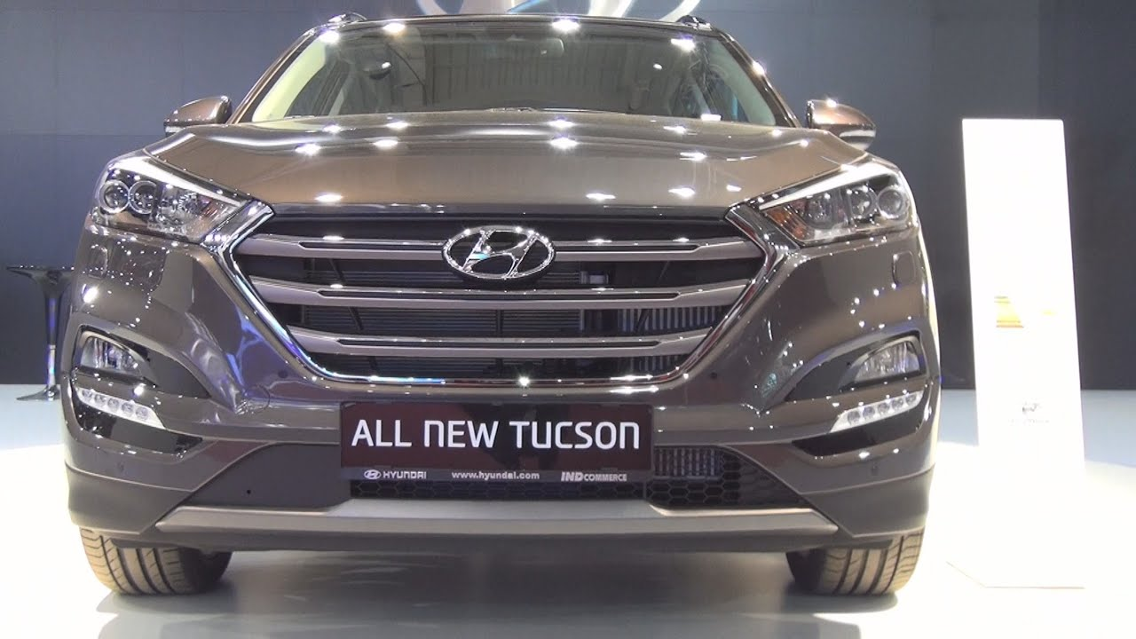 hyundai all new tucson 2 0 crdi 184 hp 4wd premier plus gt 2016 exterior and interior in 3d. Black Bedroom Furniture Sets. Home Design Ideas