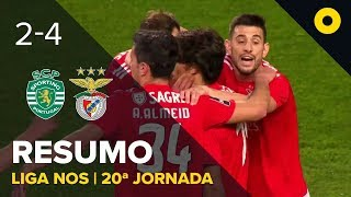 Sporting 2-4 Benfica - Resumo | SPORT TV