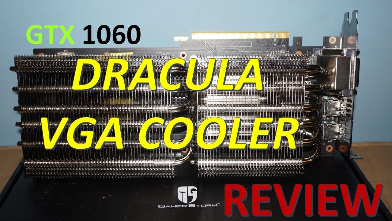 DRACULA VGA Cooler with GTX 1060 Turbo