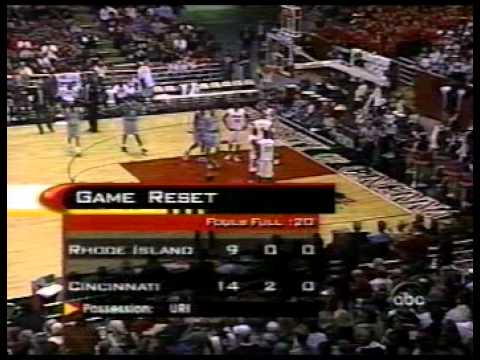 7ffe7781 Cincinnati Bearcats vs Rhode Island Rams 1998