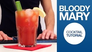 Bloody Mary Cocktail Tutorial | Drink Corner