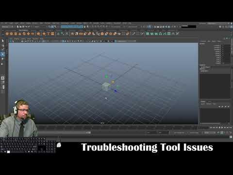 Autodesk Maya 2019 - Troubleshooting Tool Issues