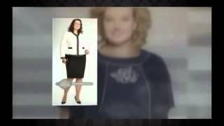 видео платья больших размеров