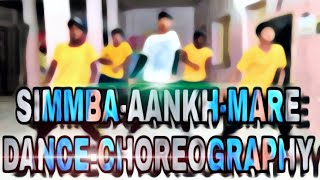 SIMMBA-Aankh-merey bollywood dance choreography/Ameriya boys/Ameriya step up dance academy