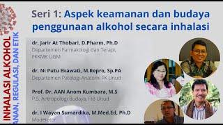 Aspek keamanan dan budaya penggunaan alkohol secara inhalasi