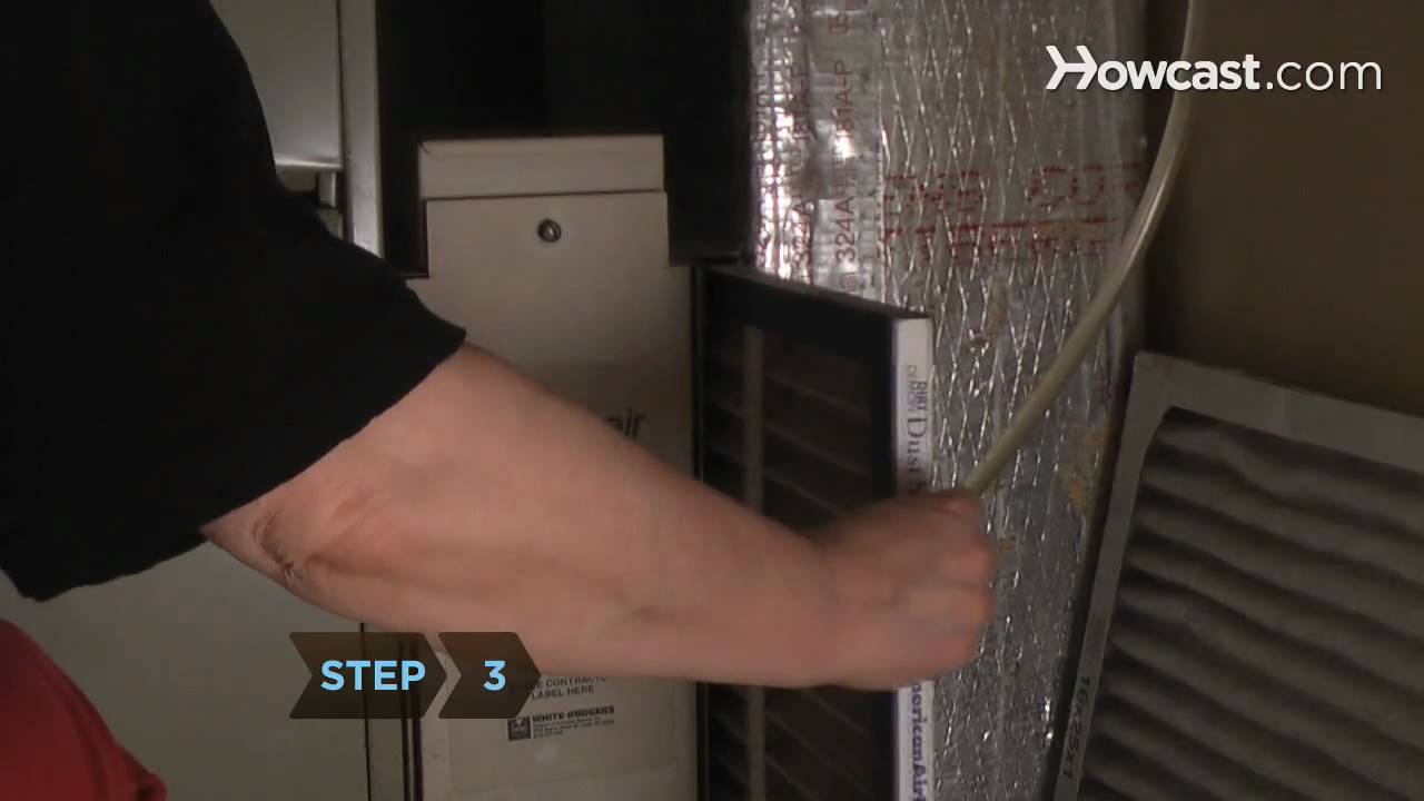 medium resolution of how to replace a furnace filter