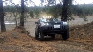 HONDA CR-V CRV OFF ROADING TEST // off-road//