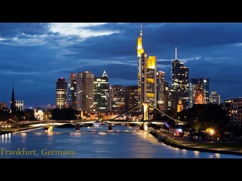 Frankfurt, Germany: A Subway Ride, City Stroll, Night Skyline and More! (Ep.1)