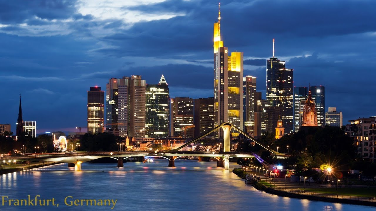frankfurt germany a subway ride city stroll night skyline and more ep 1 youtube. Black Bedroom Furniture Sets. Home Design Ideas