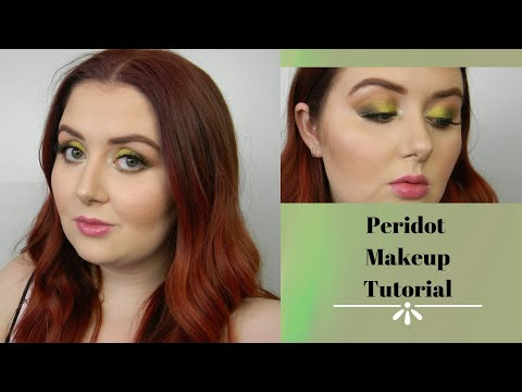 Peridot Makeup Tutorial | KathleenLights x Colourpop So Jaded Palette thumbnail