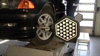 Регулировка развала-схождения колес(Autocentri.lv Предлагаем Вашему вниманию небольшой и интересный видеоролик о том, как происходит регулировка..., 2011-05-03T11:31:00.000Z)