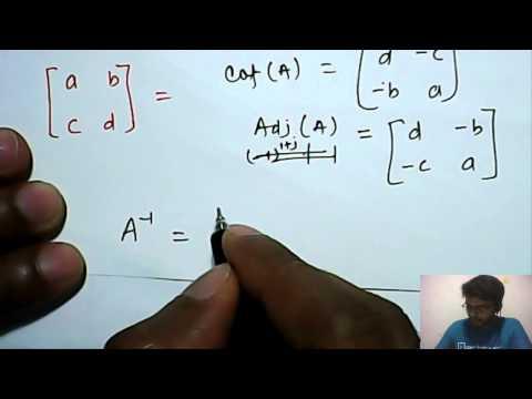 Mathematics: Adjoint & Inverse of Matrix