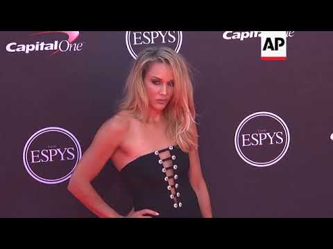 Hollywood celebs join sports stars on ESPY Awards red carpet, but not LeBron