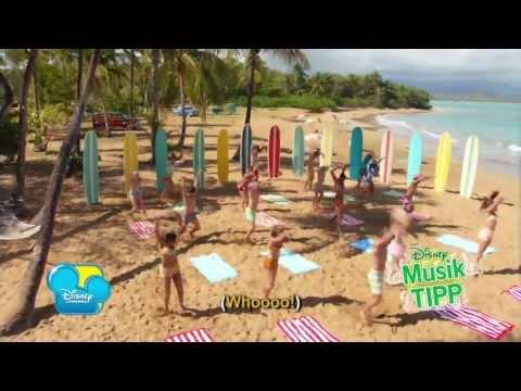 Teen Beach Movie - Surf Crazy - Musikvideo - Karaoke Version - Disney Channel