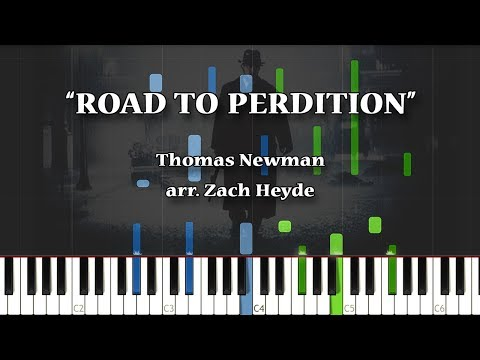 Thomas Newman: Road To Perdition [SYNTHESIA]   arr. Zach Heyde