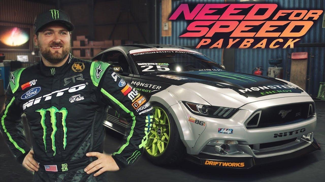 Need For Speed Payback Vaughn Gittin Jr Mustang Rtr 2018 Youtube