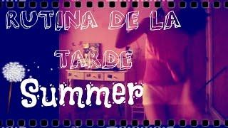 RUTINA DE LA TARDE ~ SUMMER ♡ Nuni Thumbnail
