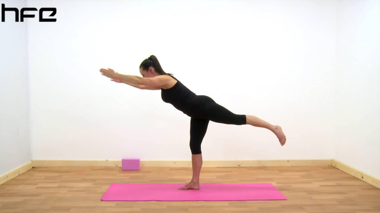 Yoga Poses - Virabhadrasana III (Warrior Pose 3) - YouTube