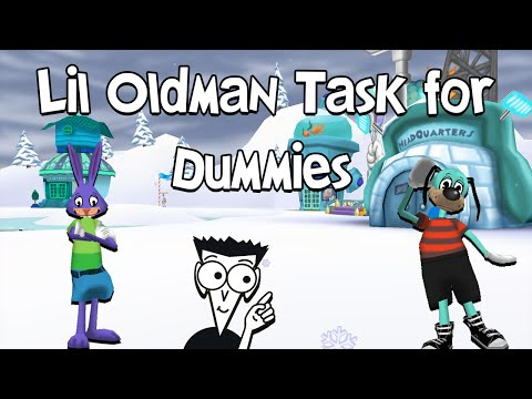 The Lil Oldman Task For Dummies (Toontown Rewritten Tips And Tricks)