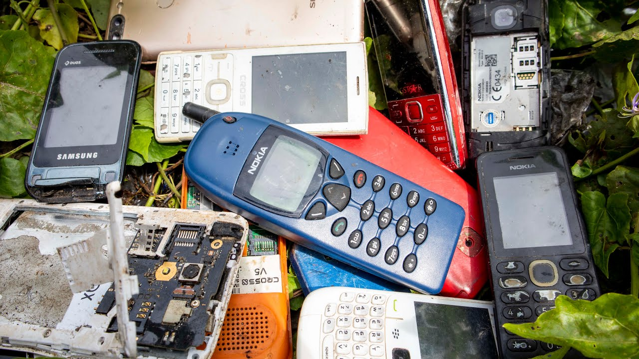 Restoration of an abandoned old Nokia 6110 || Restore Nokia 1997