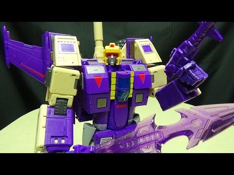 DX9 GEWALT (Masterpiece Blitzwing): EmGo's Transformers Reviews N' Stuff
