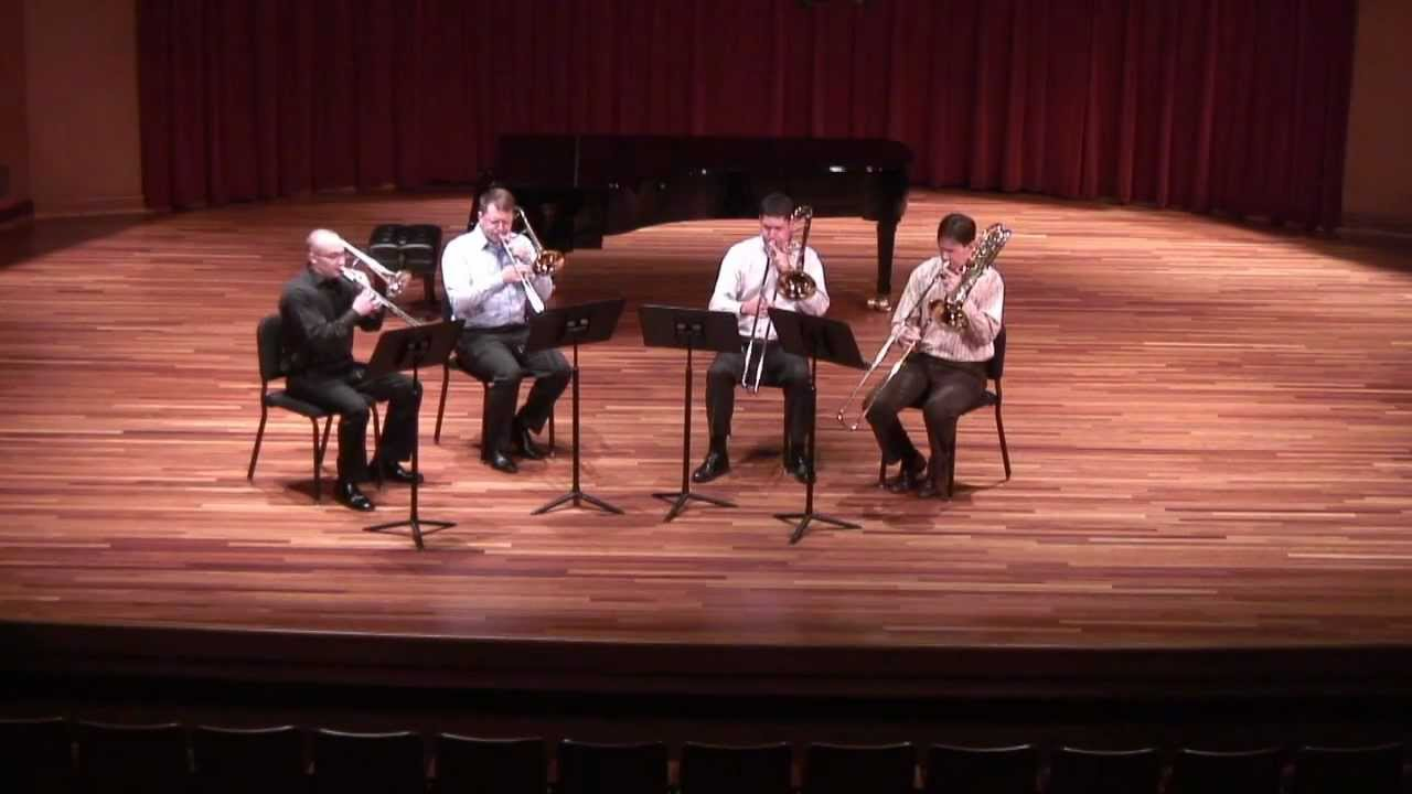 Beethoven - Drei Equali performed by Southeast Trombone Symposium faculty